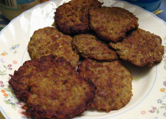beef potato patties